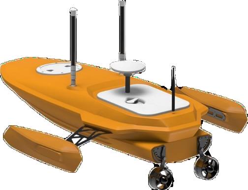 智汇 H-12 智能无人测量船